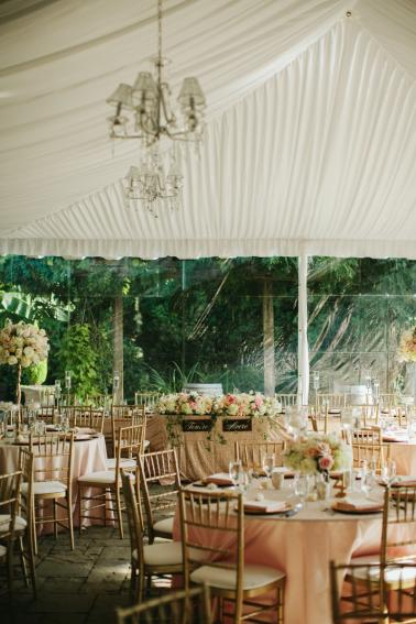An Elegant Blush & Gold Seattle Wedding via TheELD.com