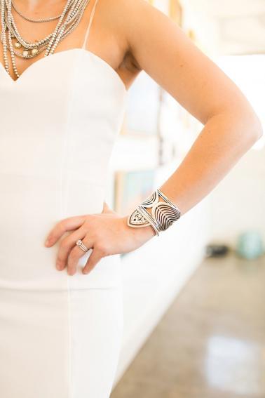 Romantic & Modern Geometric Wedding Ideas via TheELD.com
