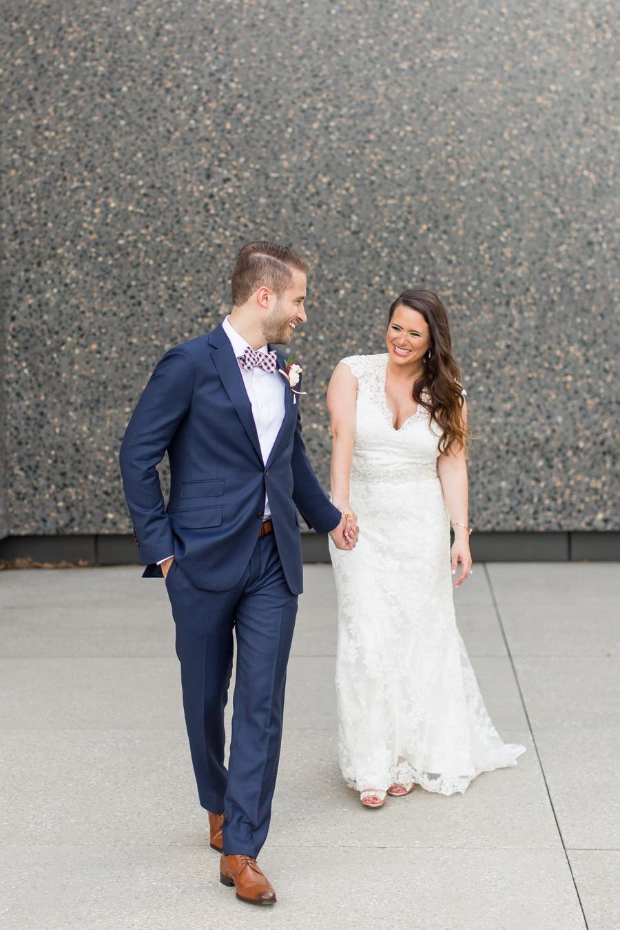 Gorgeous Pink & Red St. Louis Wedding via TheELD.com
