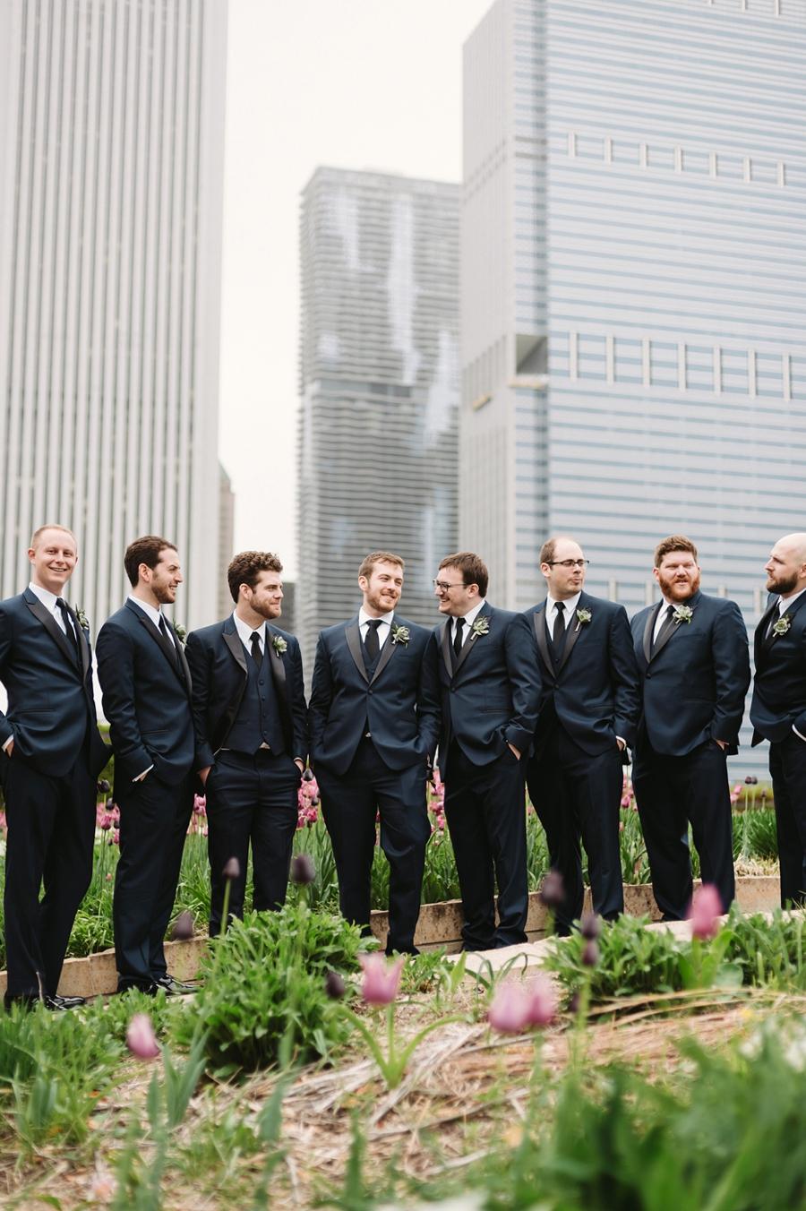 Vintage Eclectic Jewel Toned Chicago Wedding via TheELD.com
