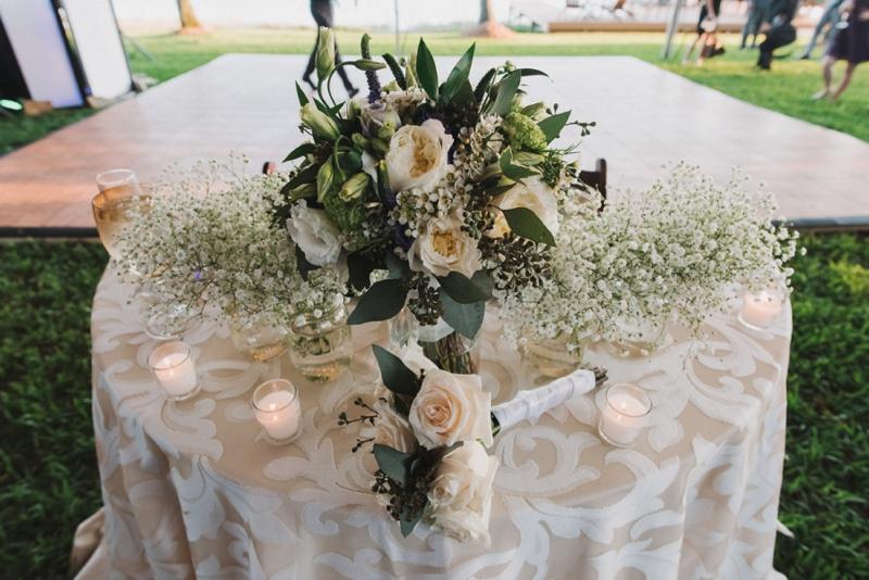 An Elegant Backyard Wedding In Palm Beach via TheELD.com