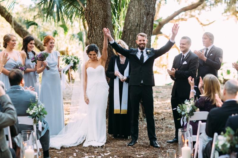 Southern & Organic Amelia Island Wedding via TheELD.com