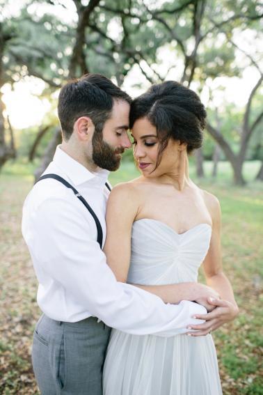 Romantic Lavender and Gray Wedding Ideas via TheELD.com