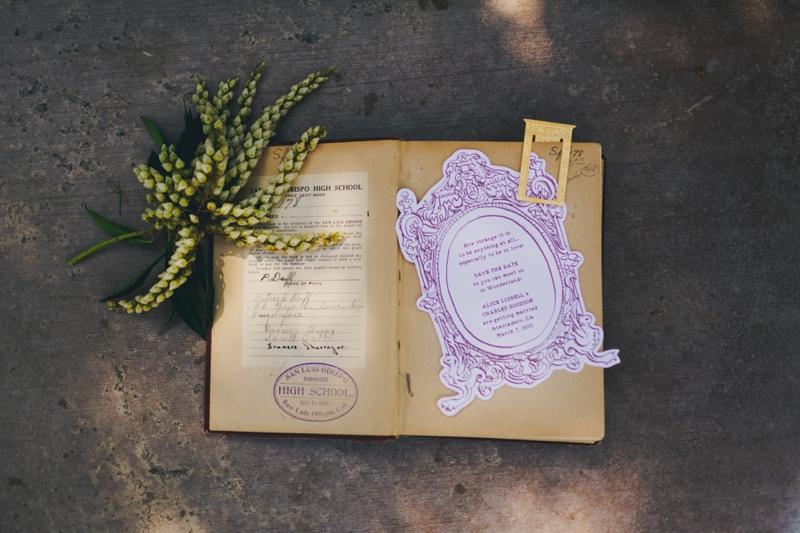 Alice In Wonderland Inspired Wedding Ideas via TheELD.com