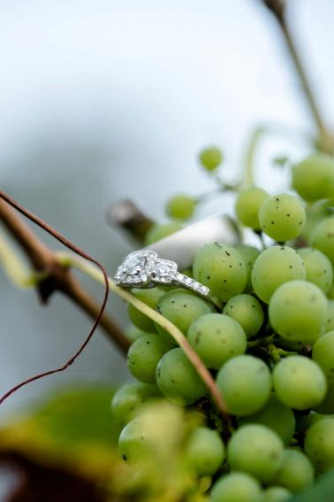 A Romantic North Carolina Vineyard Wedding via TheELD.com