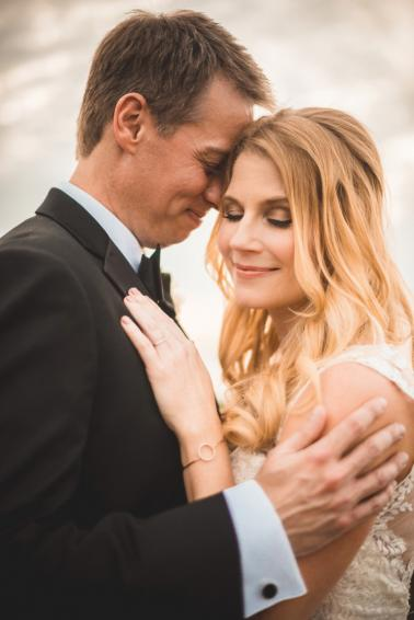 Champagne and Blush Fort Myers Wedding via TheELD.com