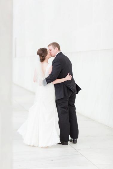 Elegant Blush Georgetown Wedding via TheELD.com