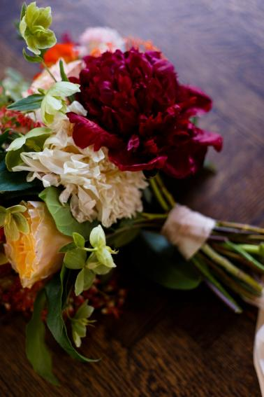 Elegant Berry Inspired Wedding Ideas via TheELD.com