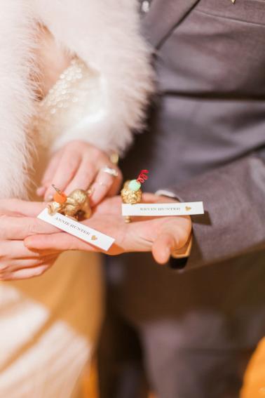 Candlelit White & Gold Boulder Wedding via TheELD.com
