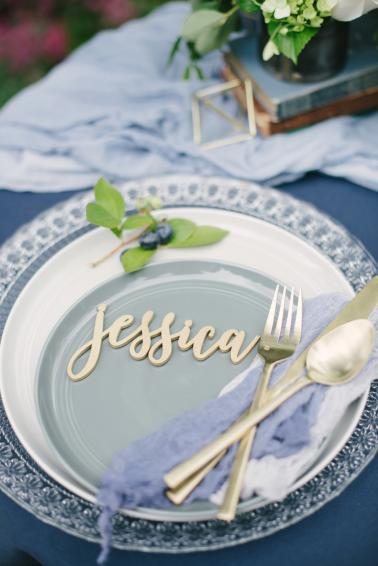 Modern Organic Wedding Inspiration via TheELD.com