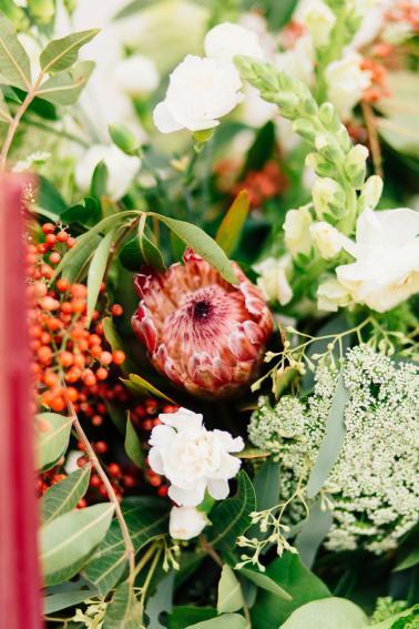 Romantic Green Garden Wedding Ideas via TheELD.com