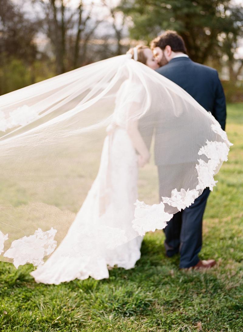 Romantic Whimsical Nashville Barn Wedding via TheELD.com