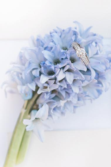 Copper and Dusty Blue Wedding Ideas via TheELD.com