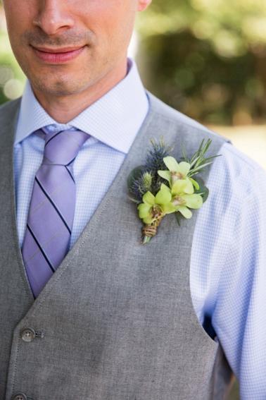Lavender and Sage Craft Beer Inspired Barn Wedding via TheELD.com