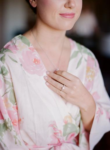 Classic Romantic Blush Nashville Wedding via TheELD.com