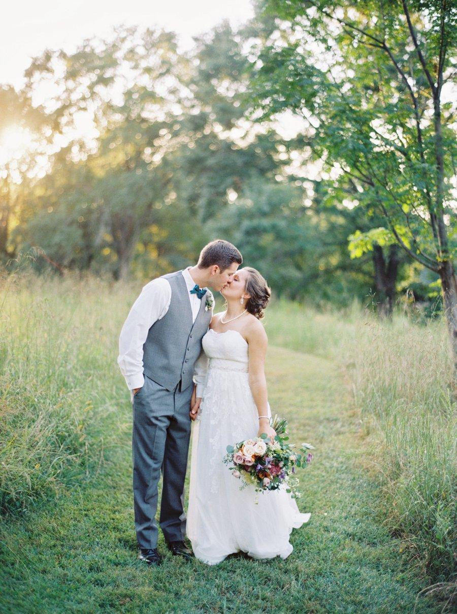 A Colorful Rustic Georgia Vineyard Wedding via TheELD.com