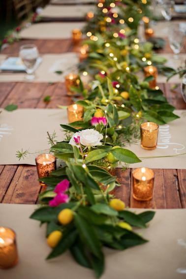 A Pink and Blue Intimate Rustic Florida Wedding via TheELD.com