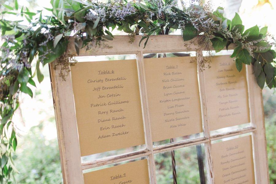 Lavender & Green Vintage Backyard Wedding via TheELD.com