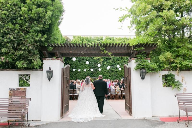 Purple and Green California Wedding via TheELD.com