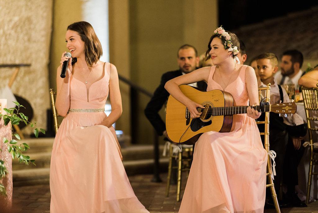 Modern Elegant Blush & Gold Florida Wedding via TheELD.com