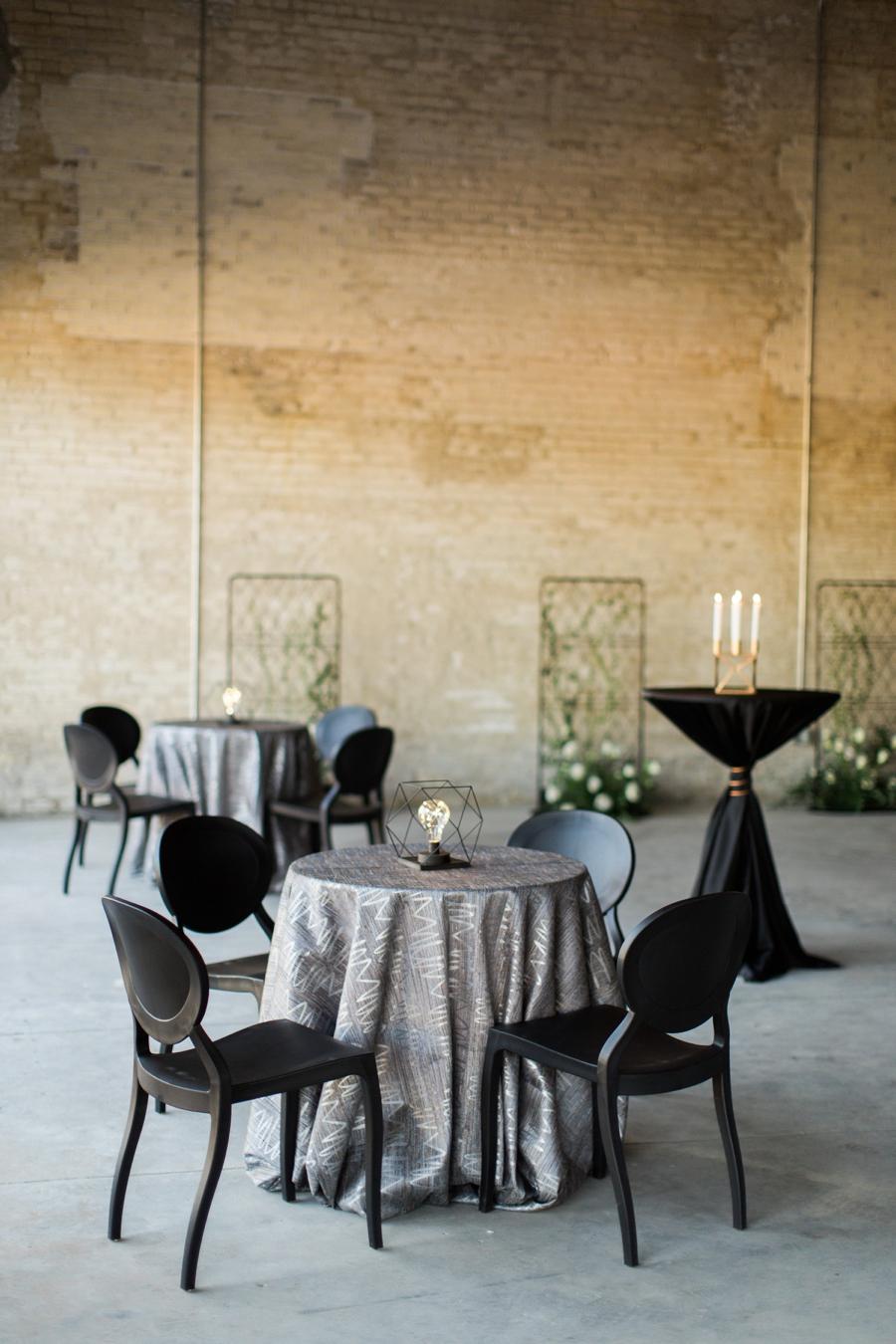 Modern Industrial Chic Wedding Inspiration via TheELD.com