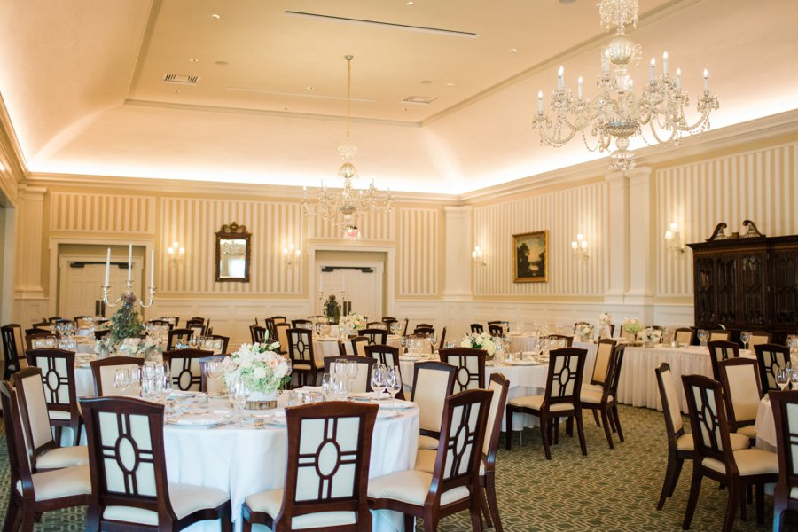 Blush & Gray Elegant Rustic Country Club Wedding via TheELD.com
