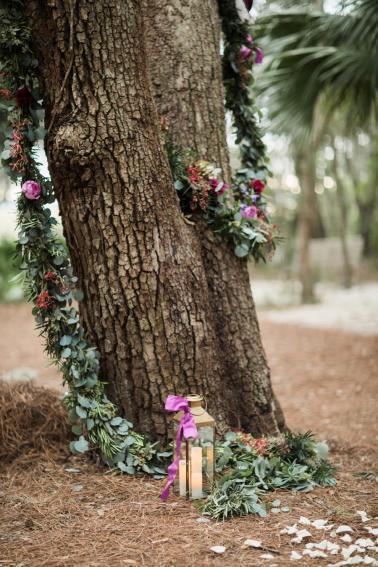 Jewel Toned Florida Garden Wedding via TheELD.com