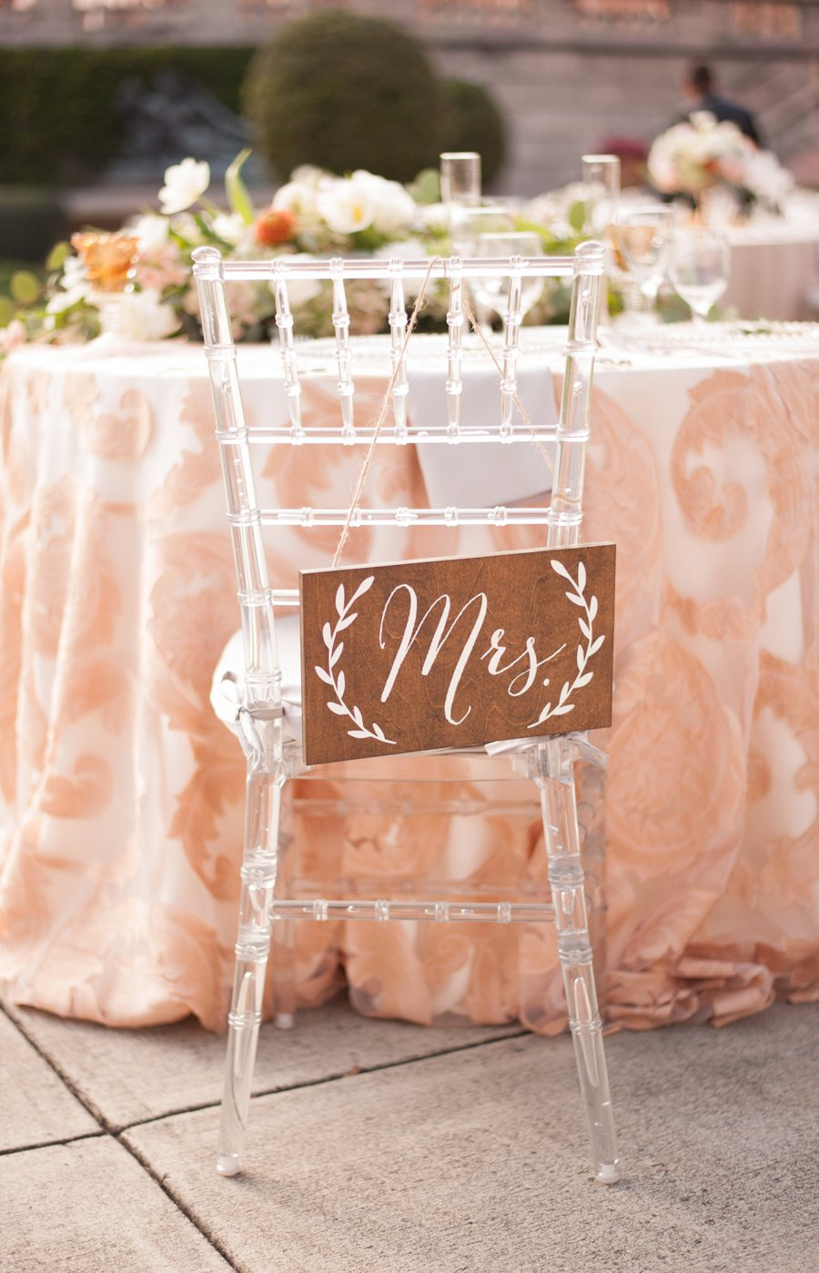 A Garden Inspired Blush Florida Wedding via TheELD.com