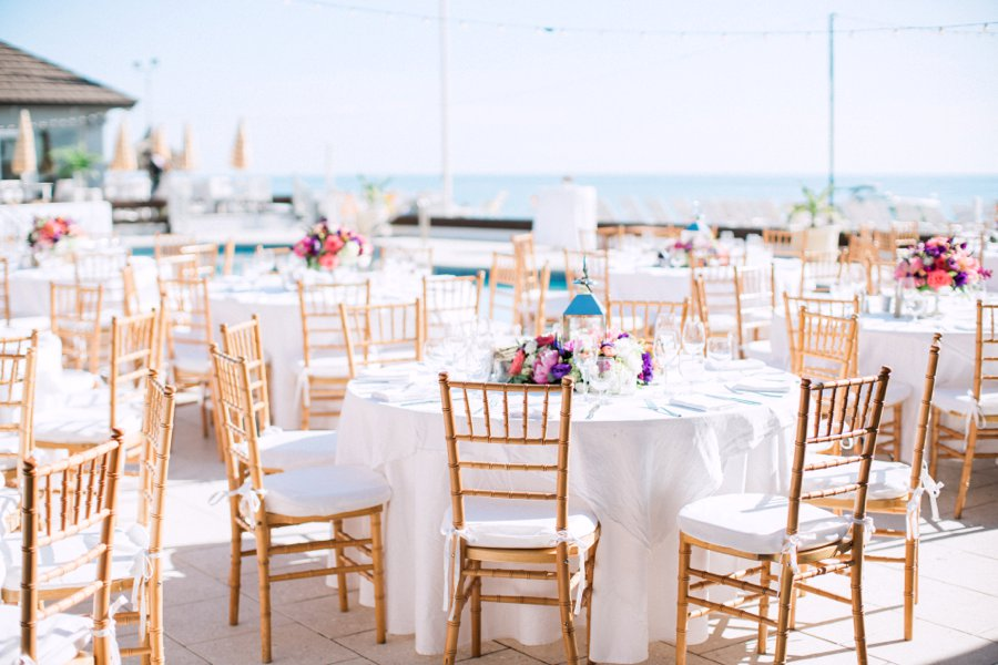 Vibrant Pink & Purple Boca Grande Wedding via TheELD.com