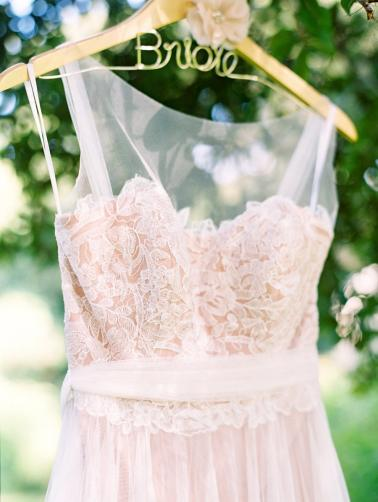 A Romantic Blush and White Rustic Florida Barn Wedding via TheELD.com
