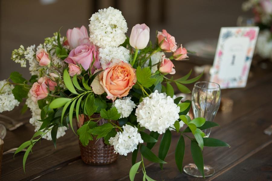 Classic Pink Minnesota Garden Wedding via TheELD.com