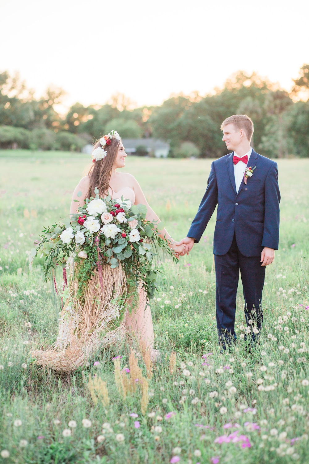 Colorful Enchanted Garden Wedding Ideas Every Last Detail