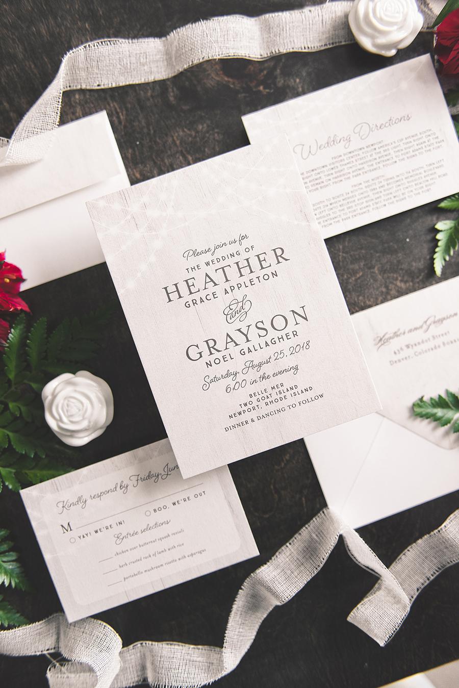 Try Before You Buy Wedding Invitations via TheELD.com