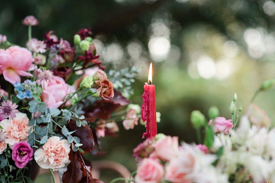 Bold Berry toned Vintage Inspired Wedding Ideas via TheELD.com