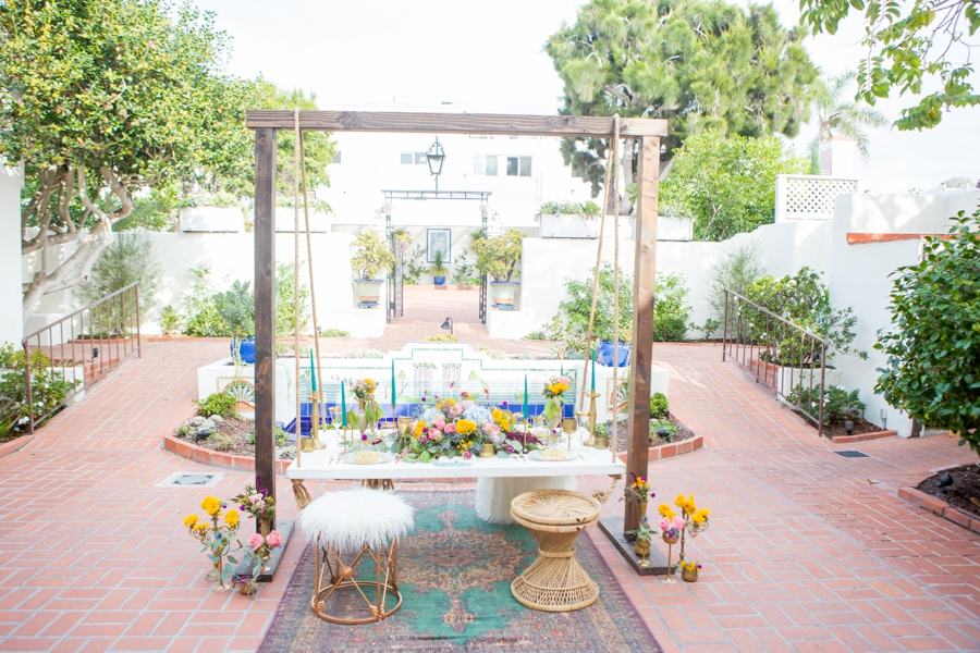 Colorful Moroccan Inspired Wedding Ideas via TheELD.com