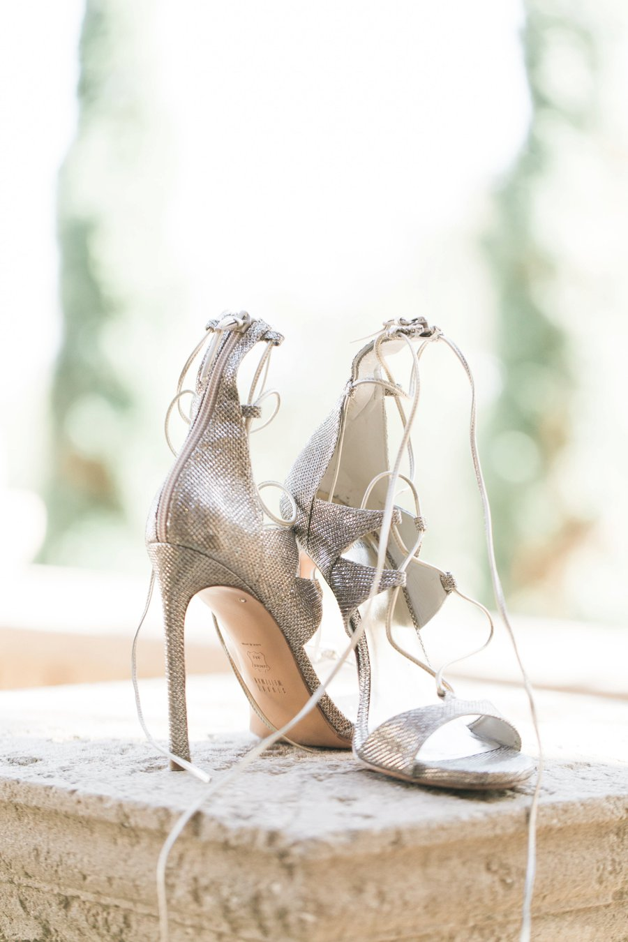 An Elegant White & Silver Central Florida Wedding via TheELD.com