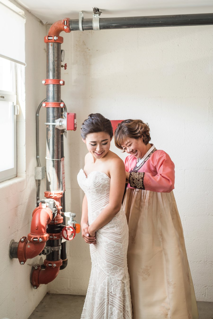 A Quirky Chemistry Inspired Los Angeles Wedding via TheELD.com