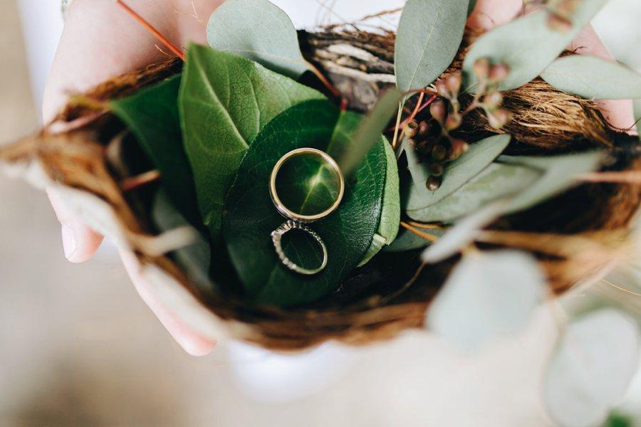 A Romantic Green & White Oceanside Miami Wedding via TheELD.com