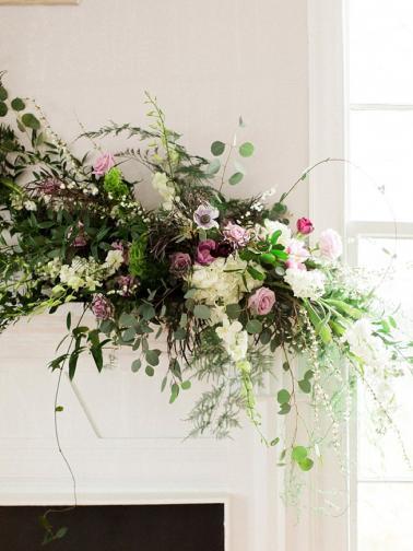 Romantic Blue & Purple Music inspired Wedding Ideas via TheELD.com
