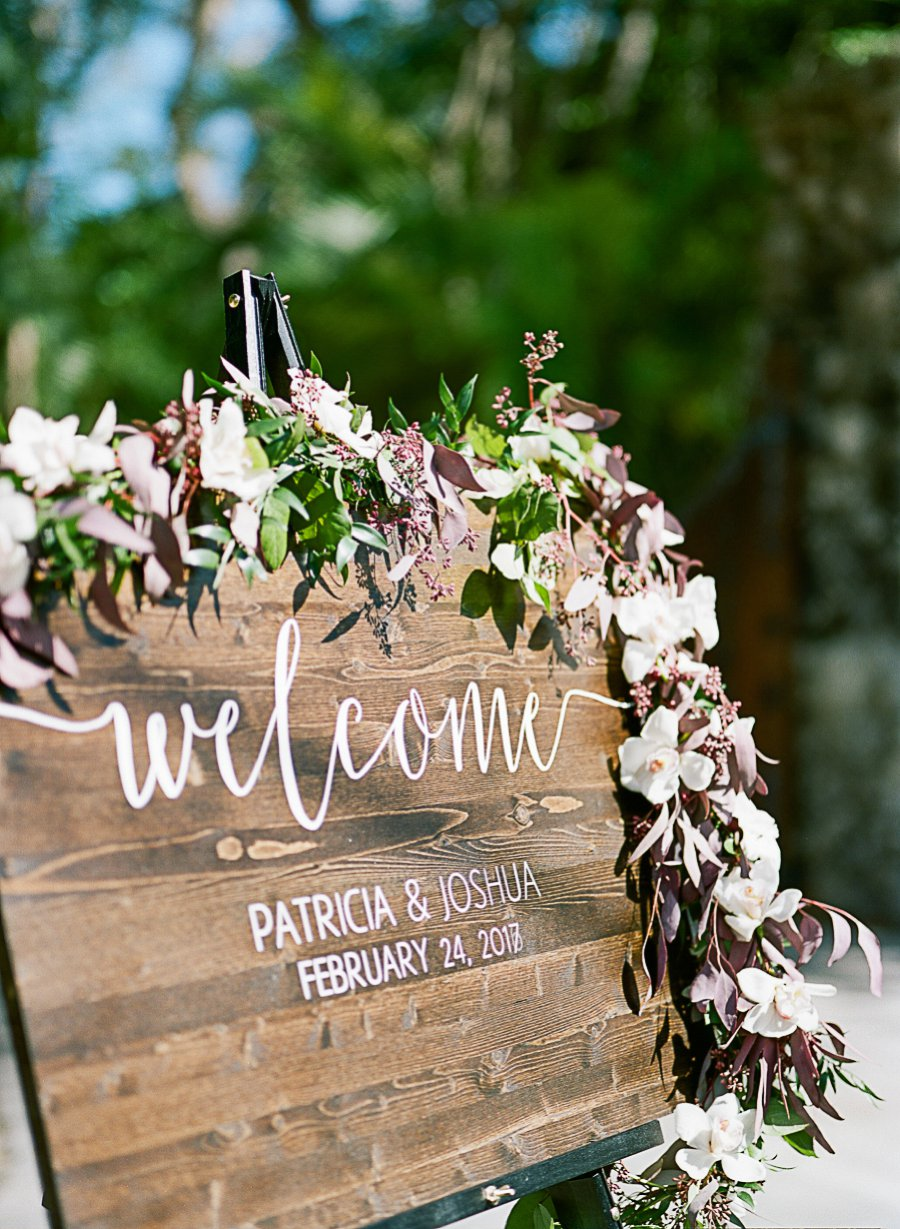 A Classic Blush & Silver Outdoor Miami Wedding via TheELD.com