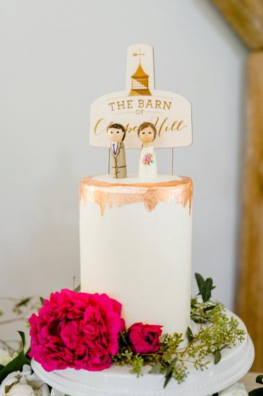 Pink & Peach Southern Wedding Ideas via TheELD.com