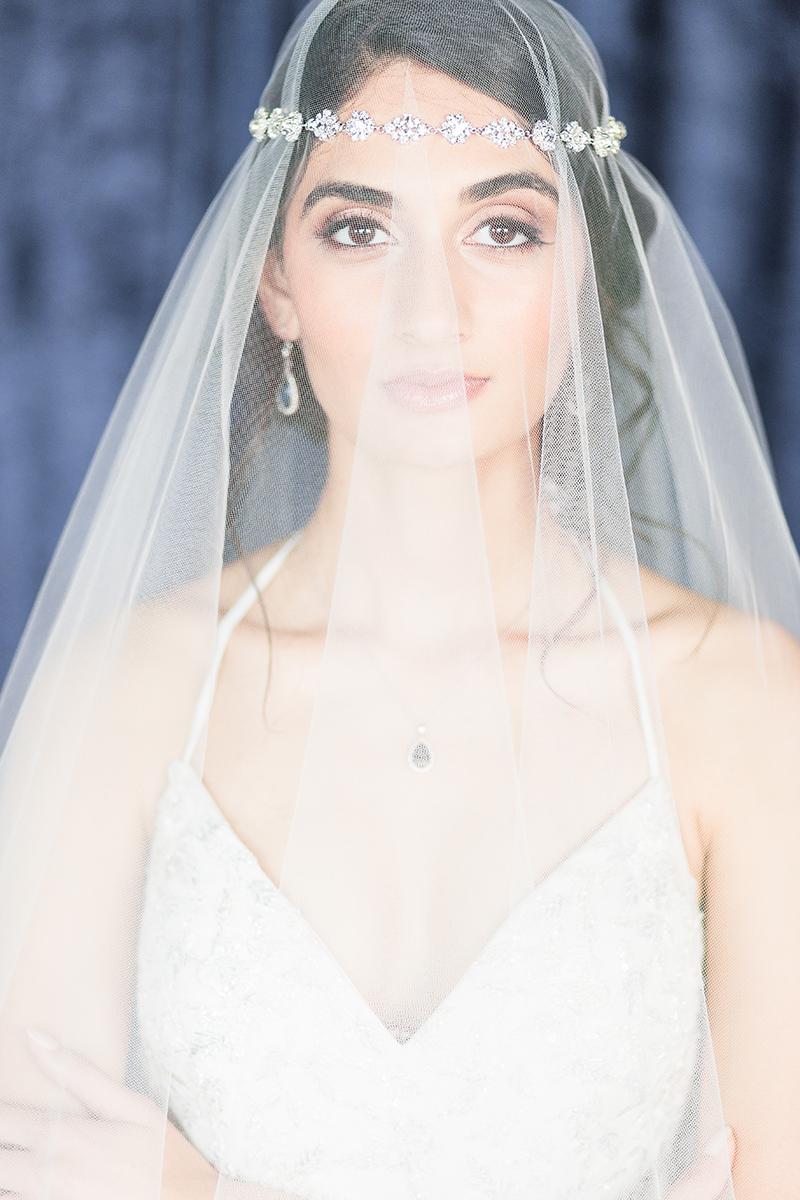 Modern Romantic Pale Blue Wedding Ideas via TheELD.com