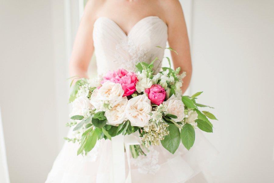 Pink & White Romantic Wedding Ideas via TheELD.com