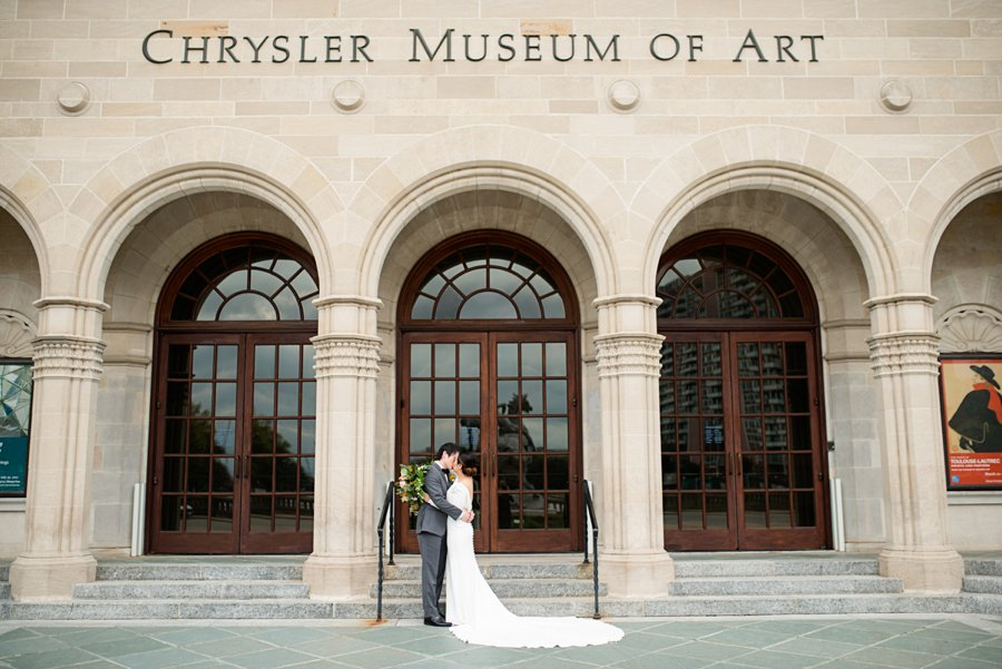 Modern Elegant Grey & Copper Wedding Ideas via TheELD.com