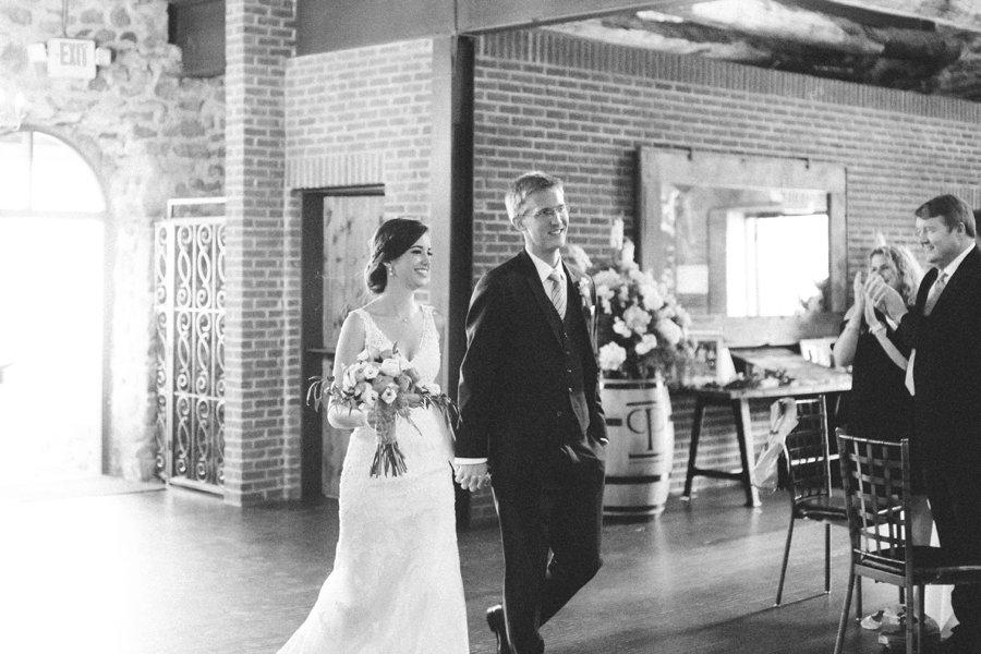 A Rustic Blue & Pink New York Wedding via TheELD.com