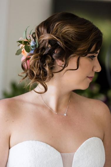 A Pink & Blue Elegant Miami Destination Wedding via TheELD.com