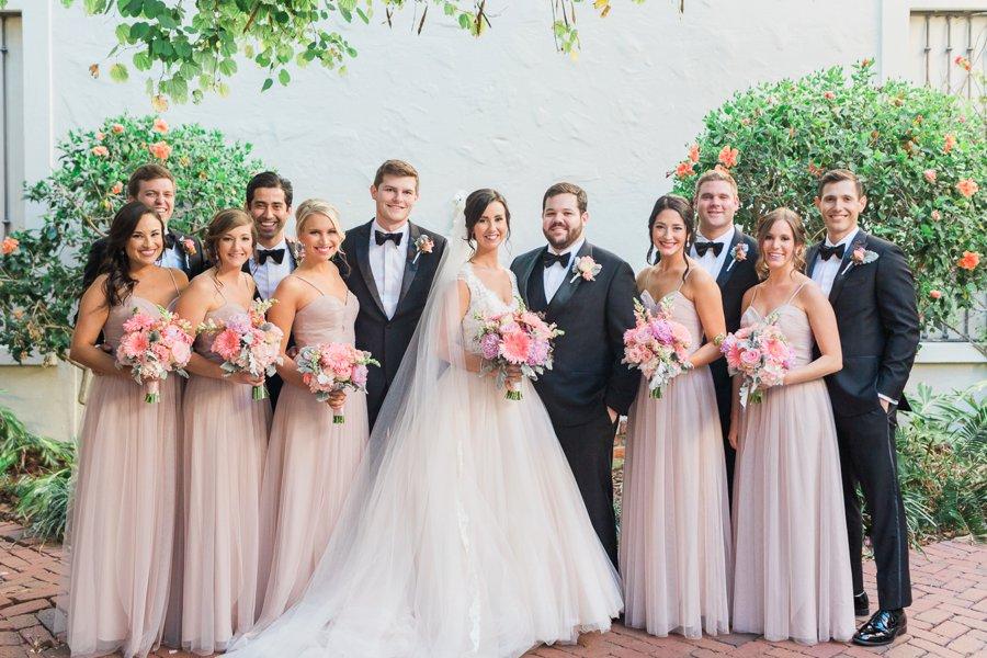 A Classic Pink St. Petersburg Museum Wedding via TheELD.com