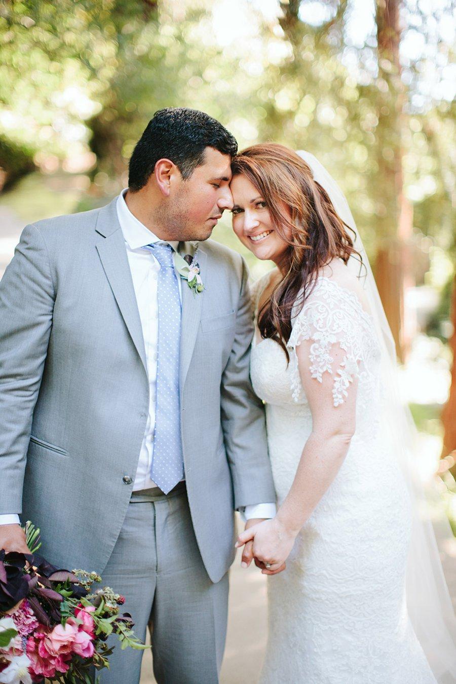 A Blue & Pink Fiesta Inspired California Wedding via TheELD.com