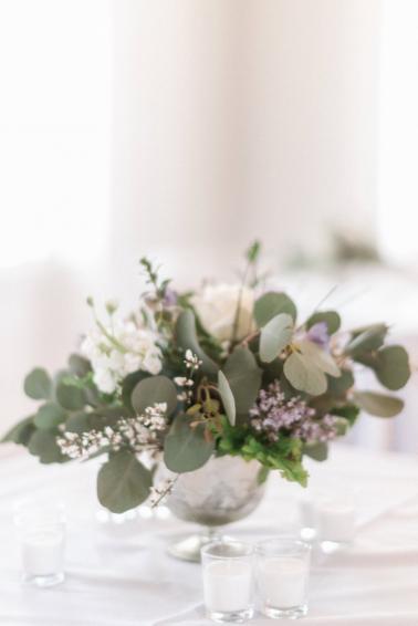 A Classic & Charming Lavender & Grey Charleston Wedding via TheELD.com