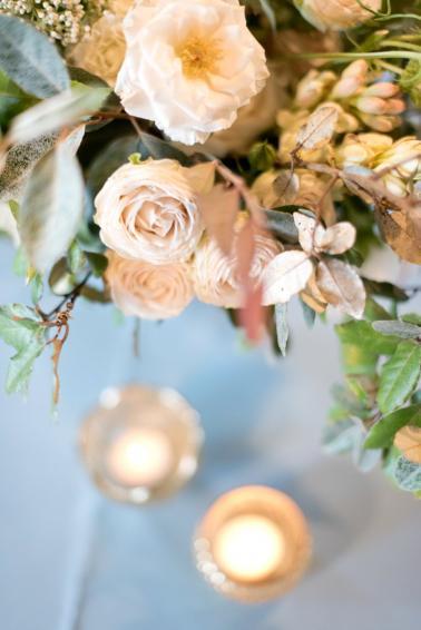 A Charming Blue & White South Carolina Wedding via TheELD.com